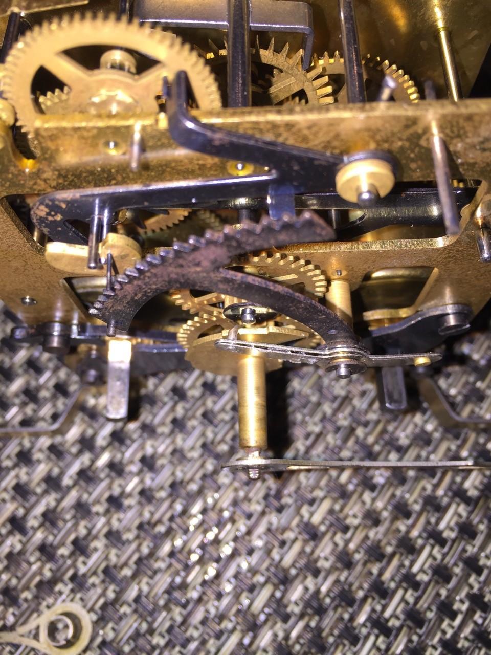 Haller Mantel Clock Rack and Snail