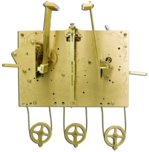 Hermle Floor Clock Movement - 1171-850/94cm - Triple Chime - Cable Driven